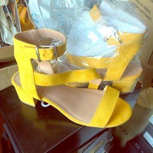 Torrid Asymmetrical Block Heels